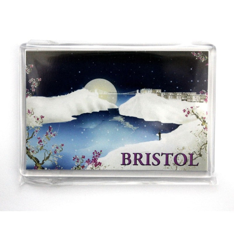 Bristol Moon & Suspension Bridge Magnet