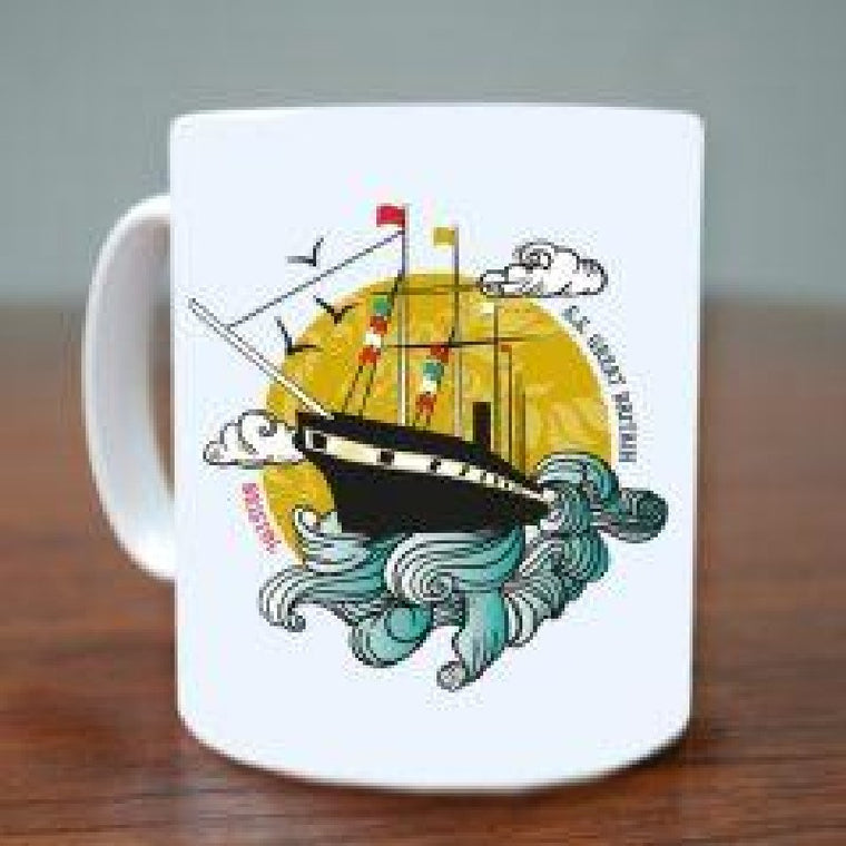 Bristol SS Great Britain mug - Susan Taylor