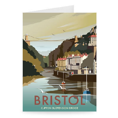 Clifton Suspension Bridge Greeting Card