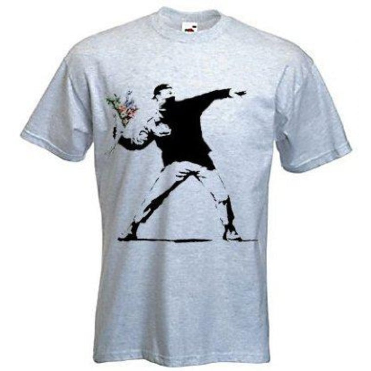 'Flower Thrower' T-Shirt