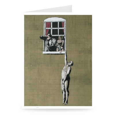 'Well Hung Lover' Greeting Card