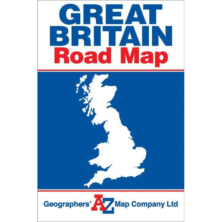 Great Britain Road Map by Geographers AZ Map Company