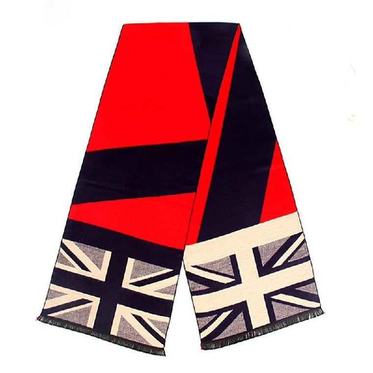 Heritage Traditions British Union Jack Scarf