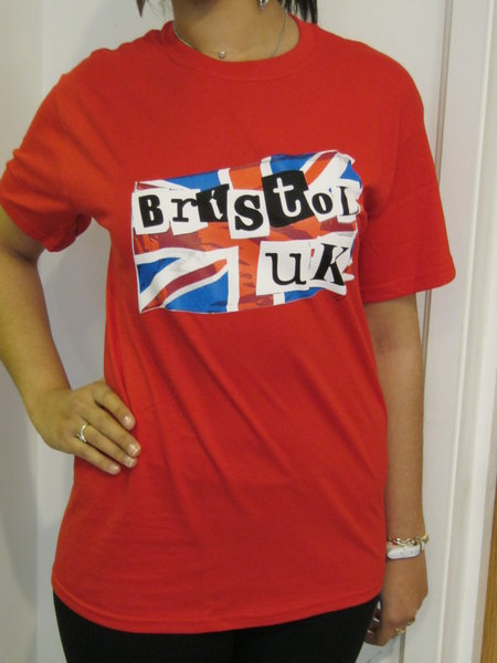 Bristol UK T-shirt Red