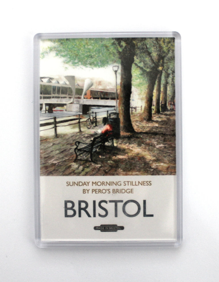 Bristol Harbourside Pero's Bridge Magnet