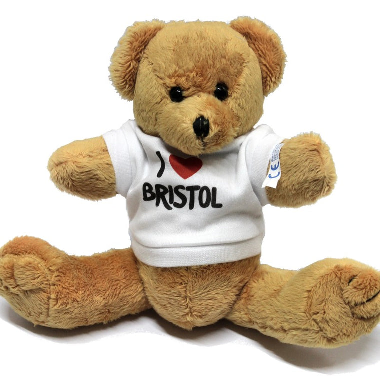 I ♥ Bristol Plush Robbie Teddy Bear