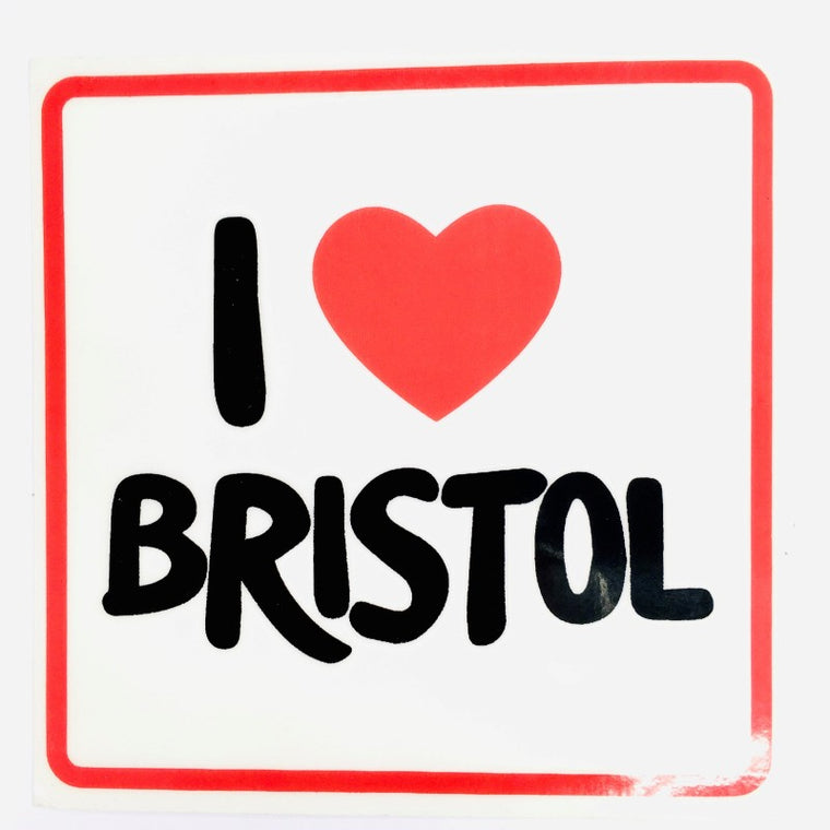 I ❤️ Bristol Window Sticker