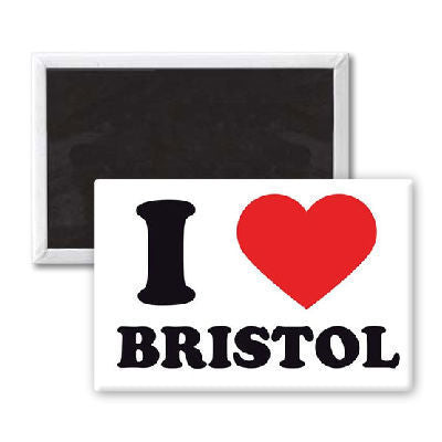 I Love Bristol Fridge Magnet