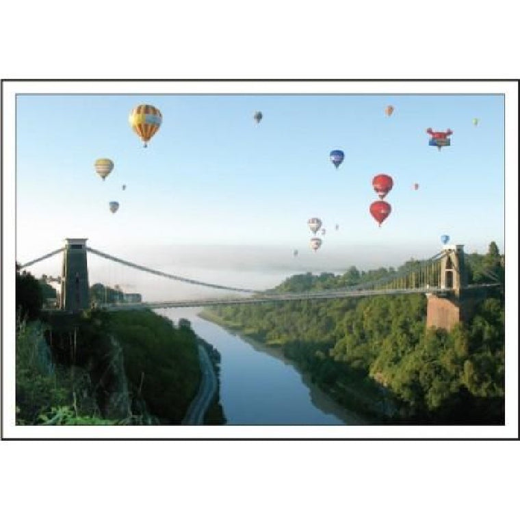 Clifton Suspension Bridge Postcard