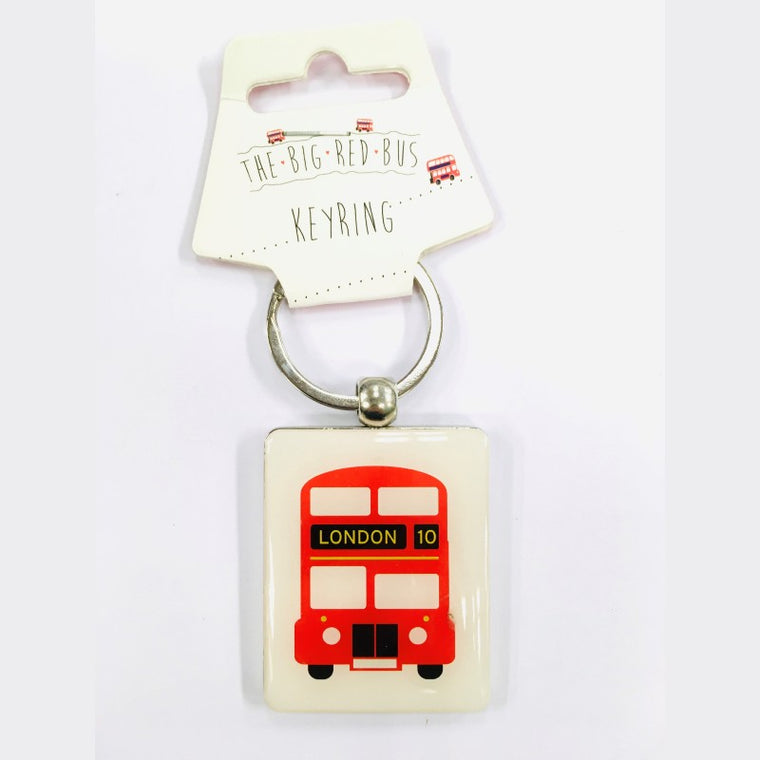 London two sided Key Ring