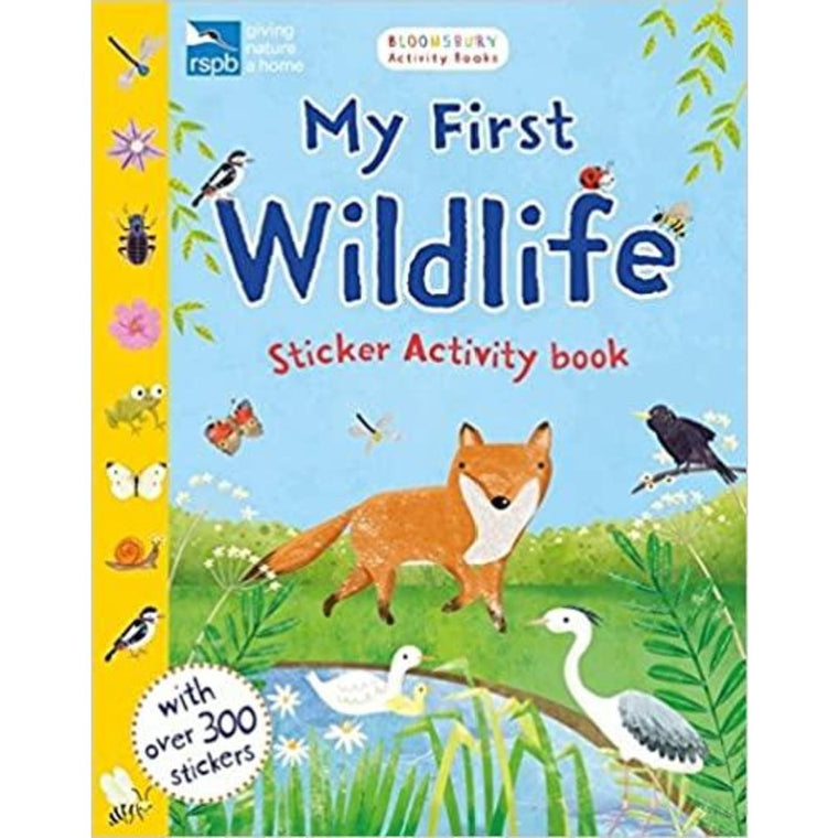 My First Wildlife: Sticker Activity Book