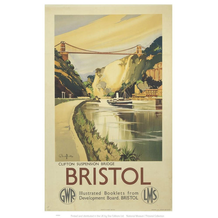 Clifton Suspension Bridge Tea Towel
