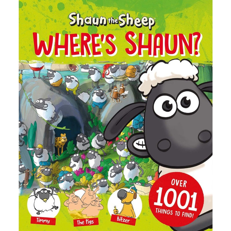 Shaun the Sheep: Where's Shaun?