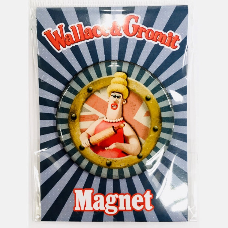 Wallace & Gromit Piella Bakewell Magnet