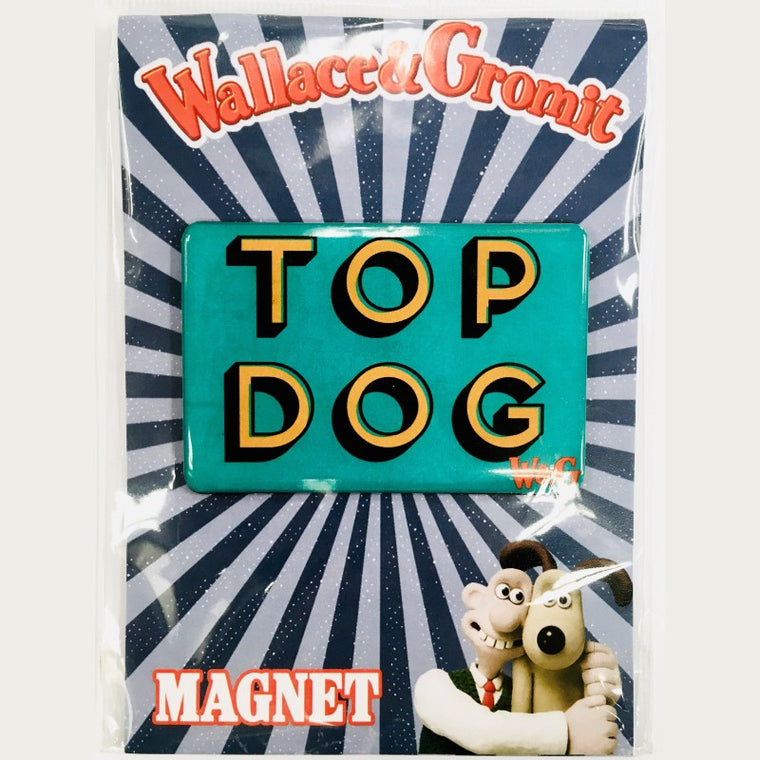 Wallace & Gromit Top Dog Magnet