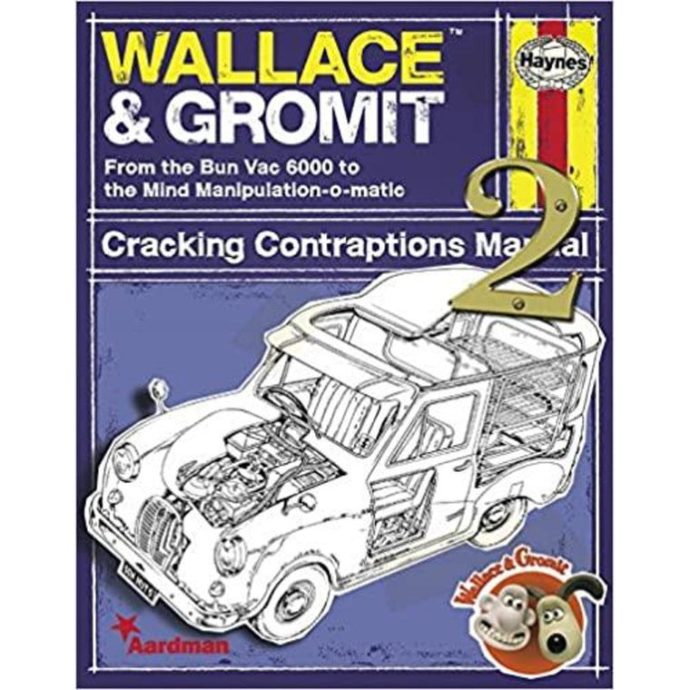 Wallace & Gromit: Cracking Contraptions Manual 2