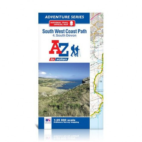 South West Coast Path South Devon A-Z Adventure Atlas