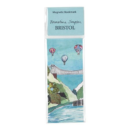 Clifton Balloons Magnetic Bookmark