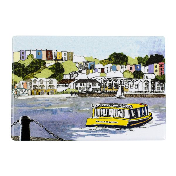 Bristol Harbourside View Magnet