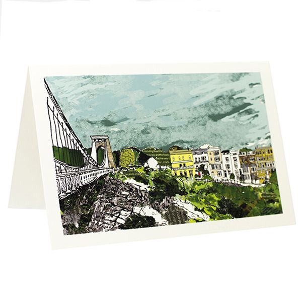 Sion Hill Greeting Card - Emmeline Simpson
