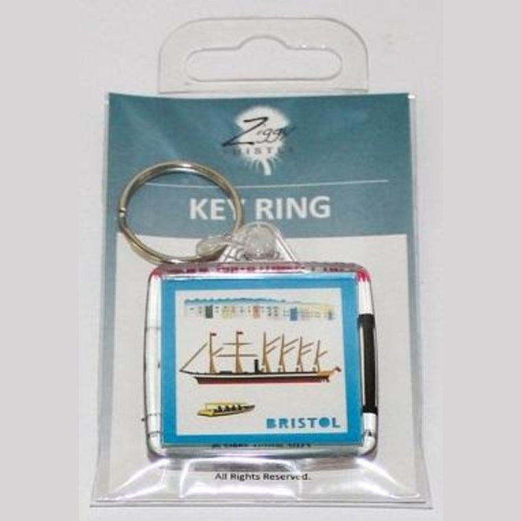 ss Great Britain keyring