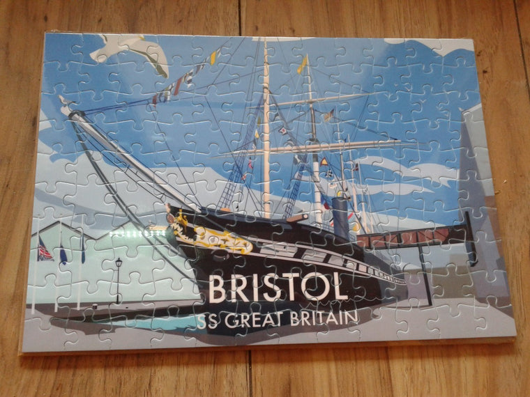 SS Great Britain Jigsaw Puzzle - Mockingbird