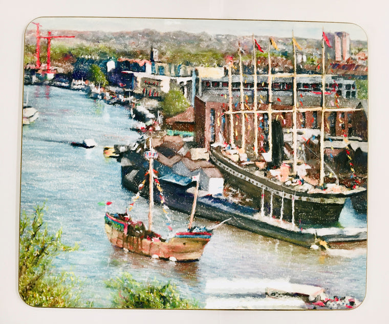 SS Great Britain Placemat - Mockingbird