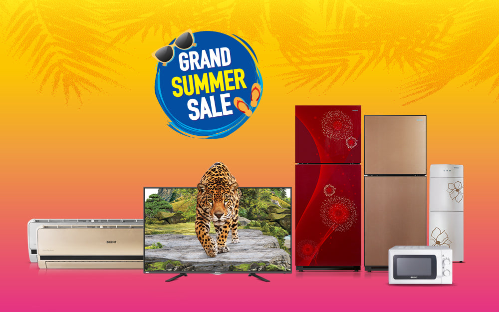 Orient's Grand Summer Sale Brings Great Discounts on All Home Appliances