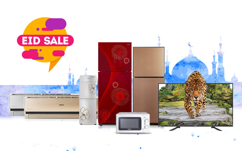 Get your Favorite Appliances at Discounted Prices with Orient Group's Eid Sale