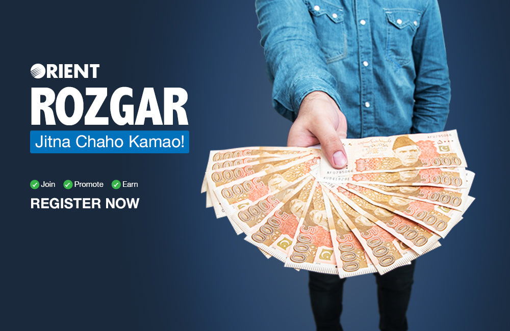 The Orient Rozgaar Program Lets You Earn Thousands of Rupees with Little to No Effort