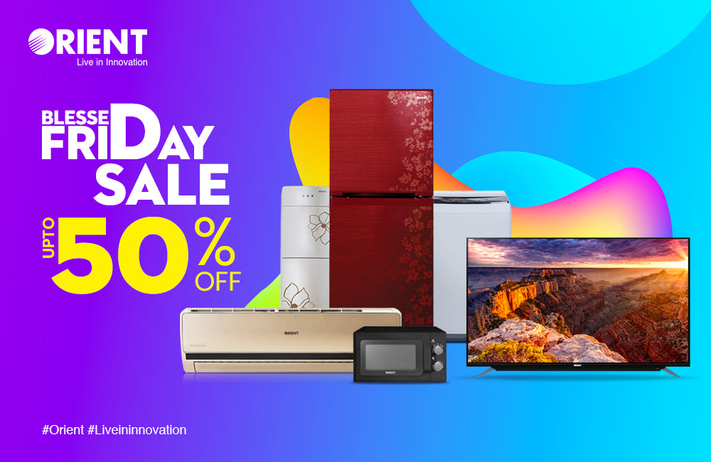 Orient's Blessed Friday Sale Brings Unbelievable Discounts of up to 50% on Complete Range