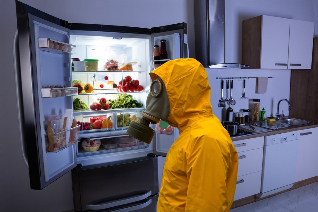 Easy way to get rid of refrigerator odors