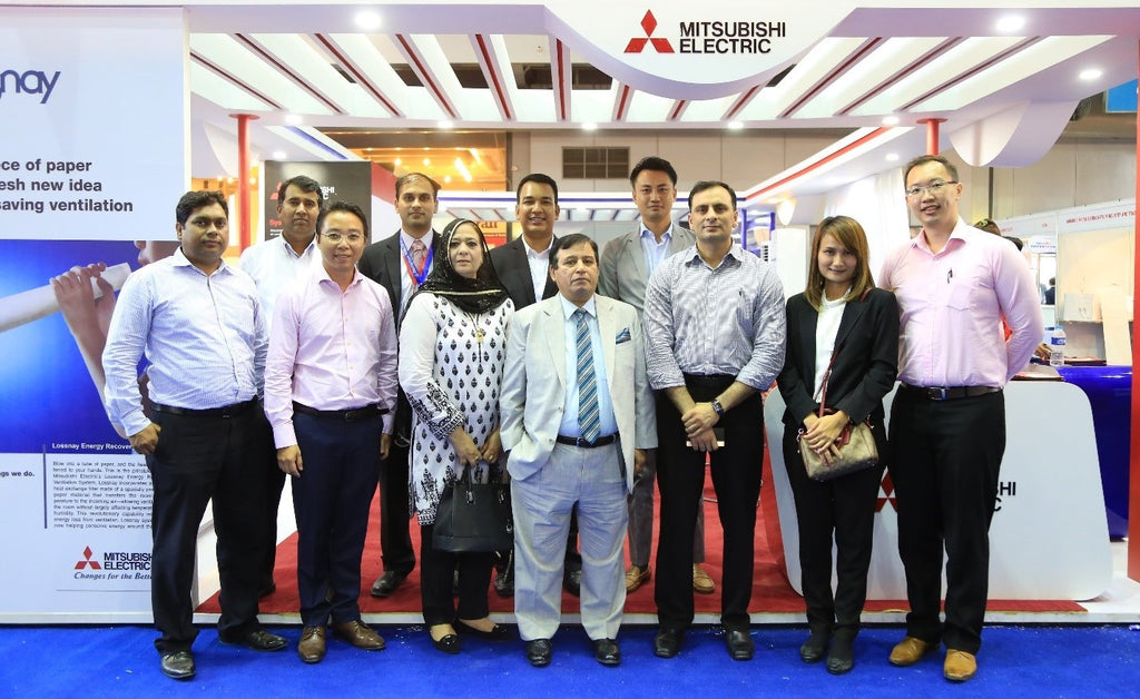 Orient and Mitsubishi attract huge crowds at Pakistan HVACR 24th Expo & Conference 2017
