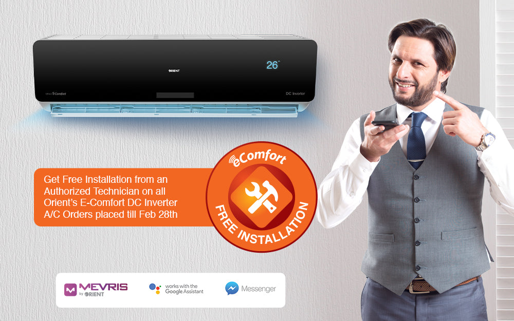 Free A/C installation deals in Pakistan