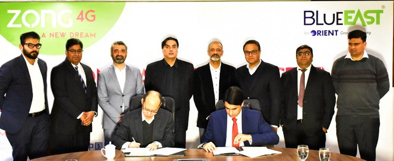 BlueEast And Zong 4G Collaborates To Reform the IoT Universe In Pakistan