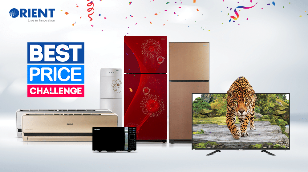 Orient Kicks Off the Best Price Challenge with a Free Microwave as the Ultimate Prize
