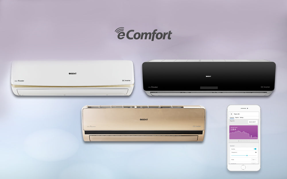 Live Smart with Orient's New Range of Intelligent Air Conditioners
