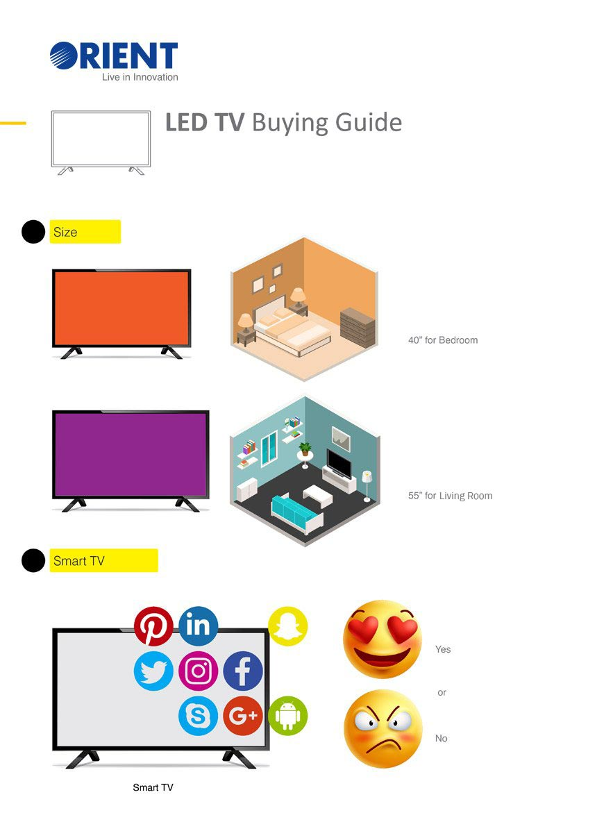 LED TV Price in Pakistan - Buy LED TV Online | Orient