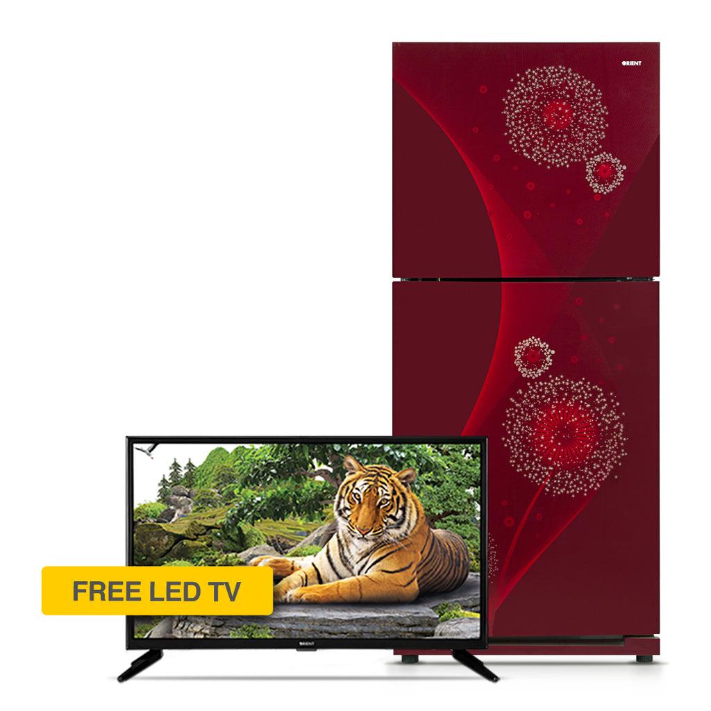 Diamond 200 Liters Refrigerator + 24 Inch LED TV (LE-24G6530)
