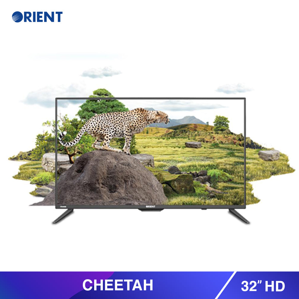 Cheetah 32 HD Black