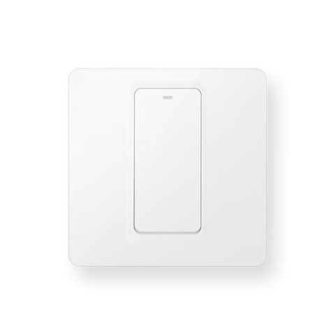 Luna Electric Switches 1-Gang White