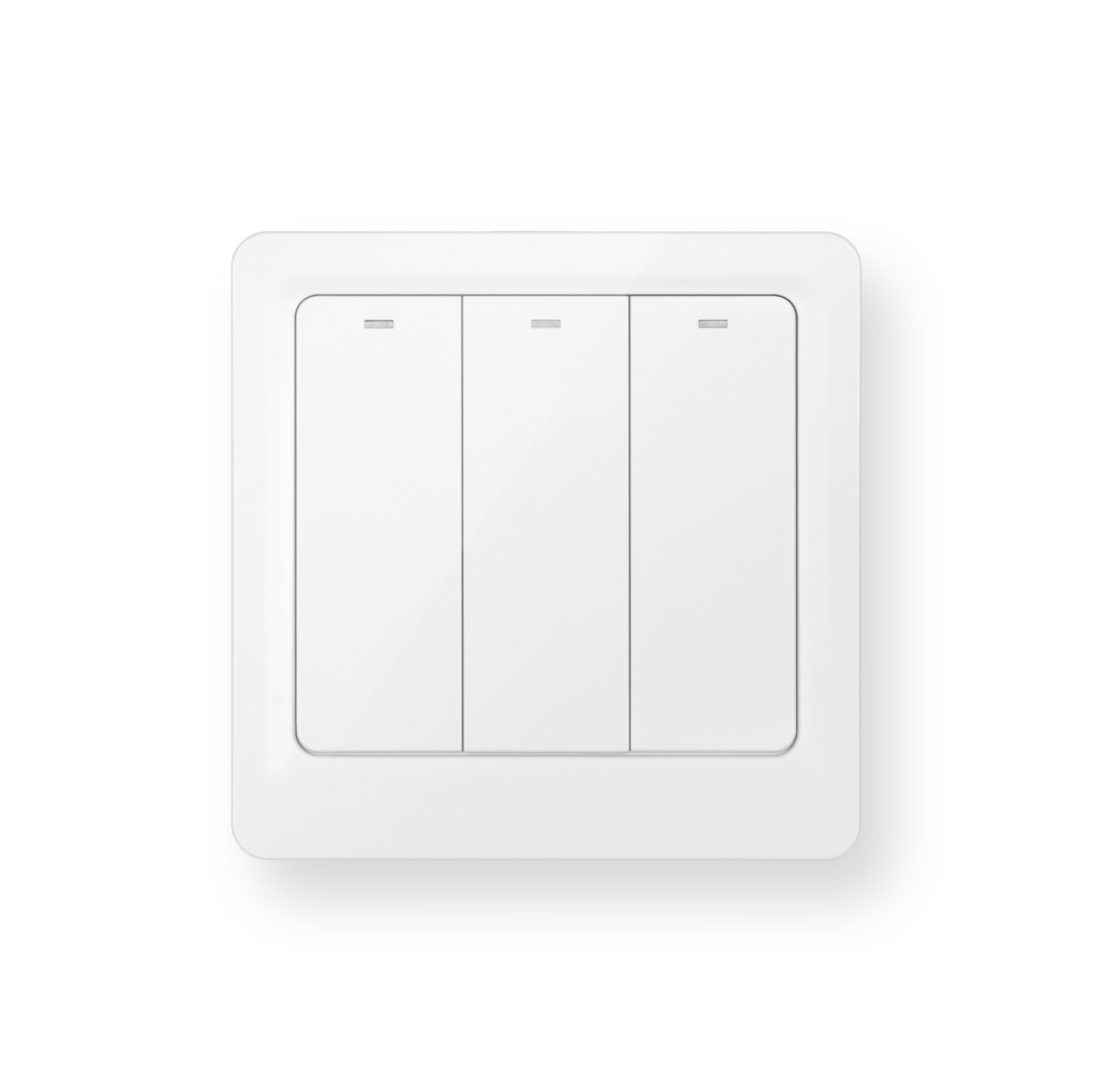 Luna Electric Switches 3-Gang White