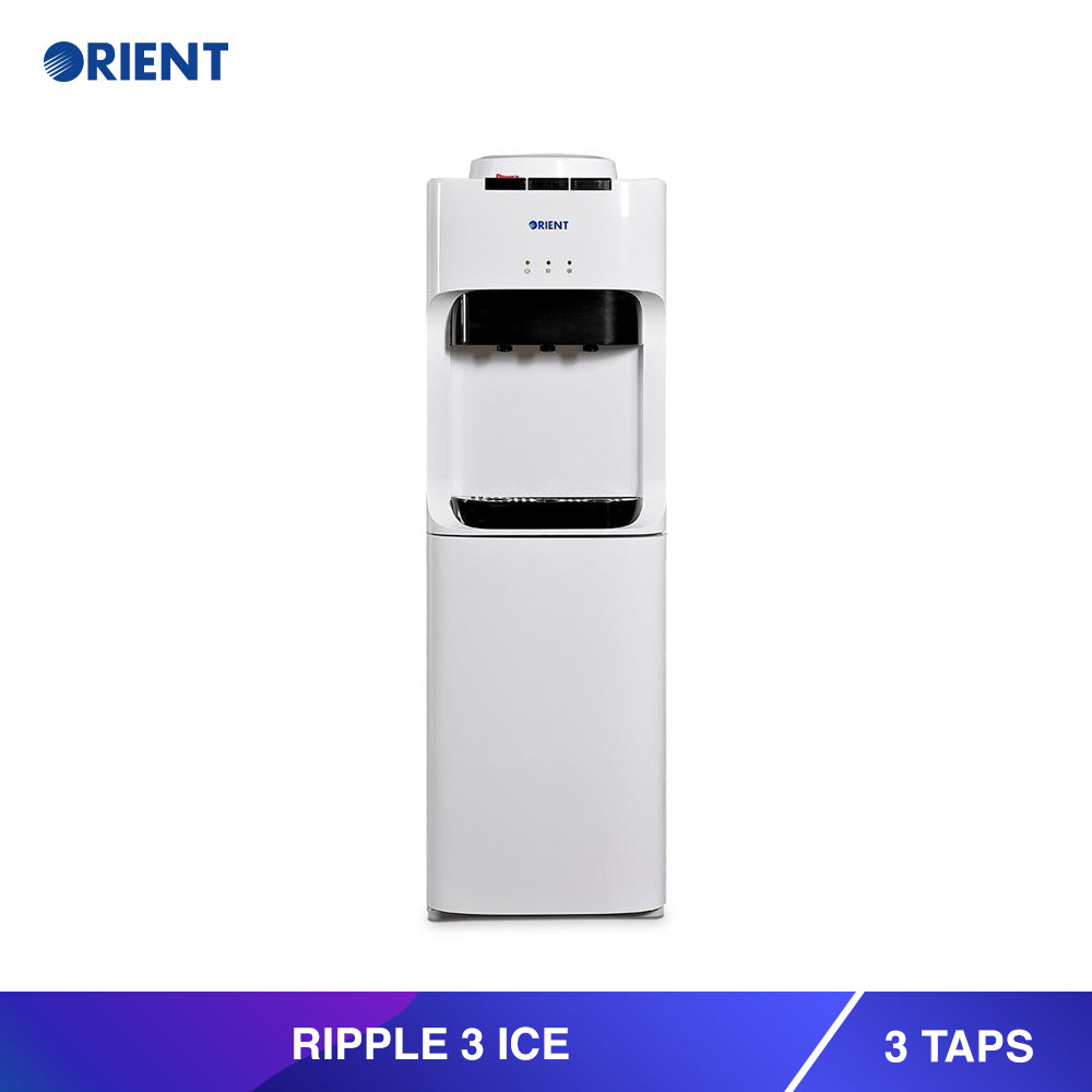 Ripple 3 Ice White Water Dispenser Orient Electronics