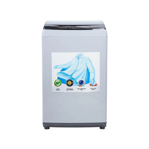 Auto 8 Kg Super Grey Washing Machine
