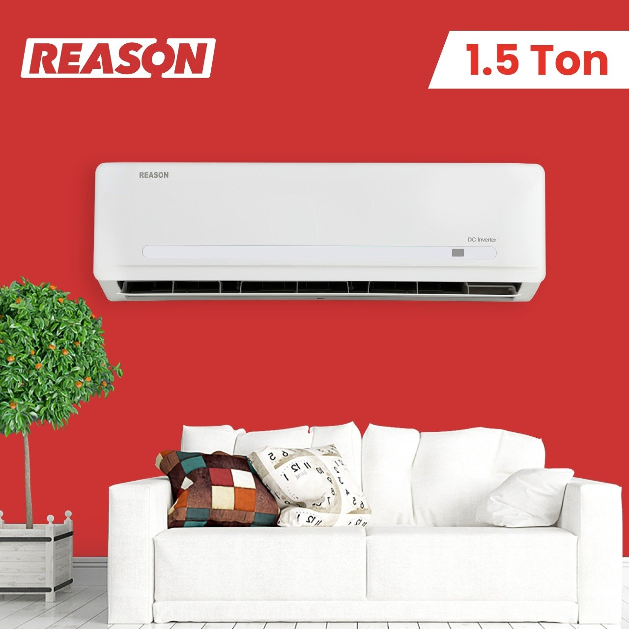 Reason 1.5 Ton Air Conditioner - With in-built WiFi Kit