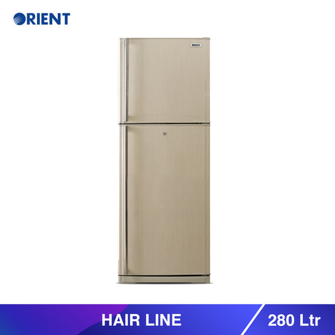 Hairline 280 Liters Refrigerators - Beige