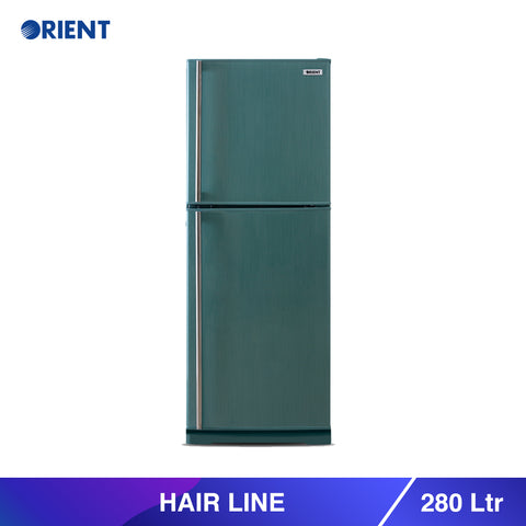 Hairline 280 Liters Refrigerators - Green