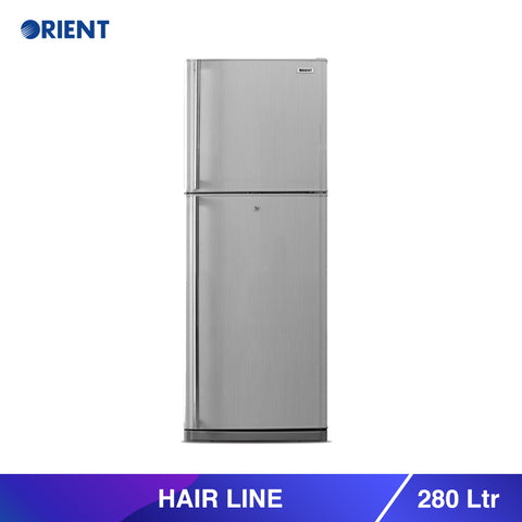 Hairline 280 Liters Refrigerators - Grey