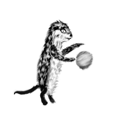 Otter bouncing ball