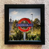 Underground sign at tower hill